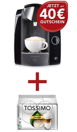 Tassimo 40 EUR-Gutschein fr den Tassimo Onlineshop