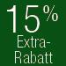 15% Extra-Rabatt