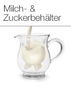 Milch- & Zuckerbehälter