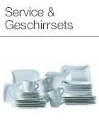 Service & Geschirrsets