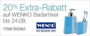 20% Extra-Rabatt auf WENKO Badartikel