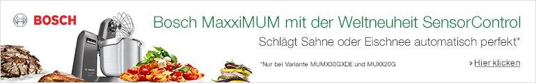 Bosch MaxxiMUM mit Sensor Control: Schlägt Eischnee oder Sahne perfekt (nur Modelle MUM30GXDE und MUMXX20G)