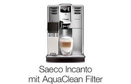 Saeco Incanto mit AquaClean-Filter