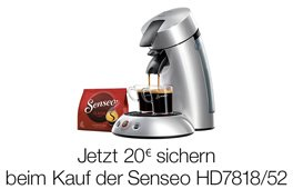 Philips SENSEO Cashback-Aktion