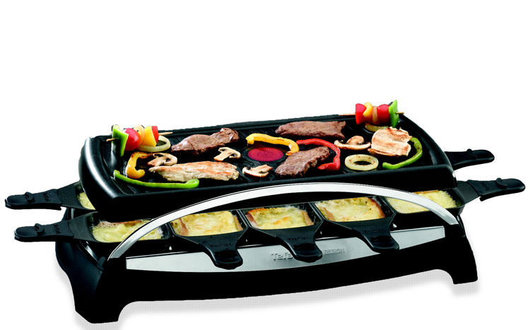 Tefal Re4568 Ambience 10 Raclette Amazon It Casa E Cucina