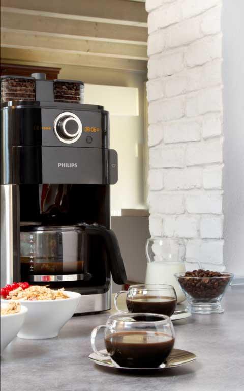 philips hd7762 00 grind und brew kaffeemaschine mit. Black Bedroom Furniture Sets. Home Design Ideas