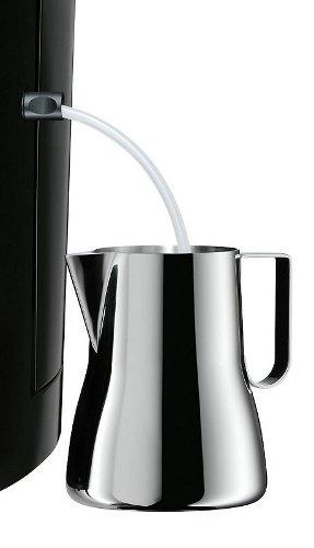 wmf 10 kaffeepadmaschine 400100001 schwarz wei grau kaffeemaschine ebay. Black Bedroom Furniture Sets. Home Design Ideas