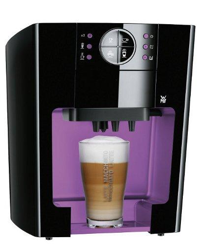 wmf 04 0010 0002 10 kaffeepadmaschine schwarz violett. Black Bedroom Furniture Sets. Home Design Ideas