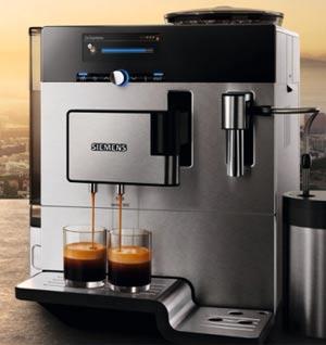 siemens te803509de kaffeevollautomat eq 8 series 300 edelstahlfront schwarz ebay. Black Bedroom Furniture Sets. Home Design Ideas
