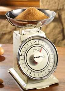 retro küchenwaage