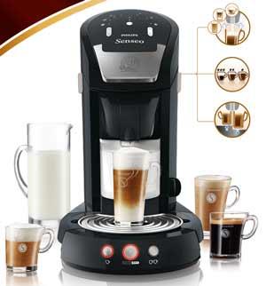 philips hd7854 60 senseo latte select kaffeepadmaschine 2650 watt 1 2 l easy clean. Black Bedroom Furniture Sets. Home Design Ideas