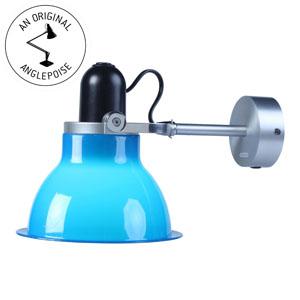anglepoise type 1228 wandleuchte klassisch blau 30674 us360. Black Bedroom Furniture Sets. Home Design Ideas
