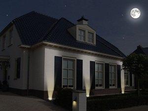 ranex led bodeneinbaustrahler f r au en eckig. Black Bedroom Furniture Sets. Home Design Ideas