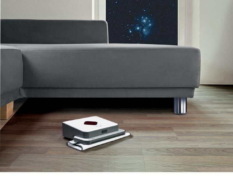 dirt devil evo swiffer wischer mit roboter. Black Bedroom Furniture Sets. Home Design Ideas