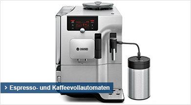 Espresso- und Kaffeevollautomaten