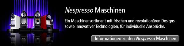Nespresso - Die Maschinen
