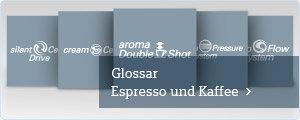 Siemens Glossar Espresso & Kaffee