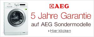 AEG 5 Jahre Garantie 2015