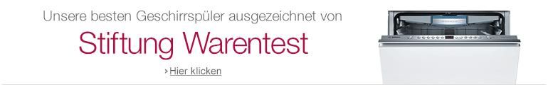 Geschirrspüler von Stiftung Warentest