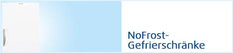 Gefrierschr�nke- NoFrost