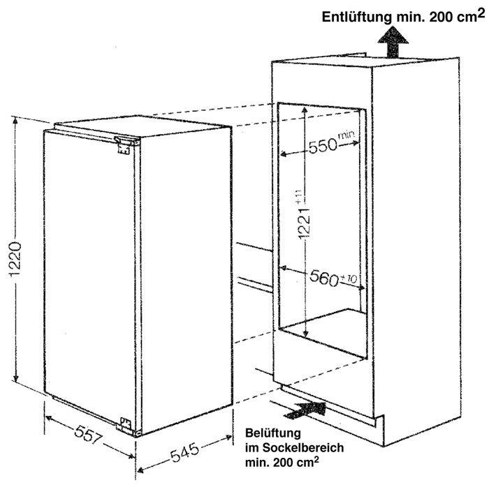 bauknecht kvik 2004 mod k hlschrank eek den. Black Bedroom Furniture Sets. Home Design Ideas