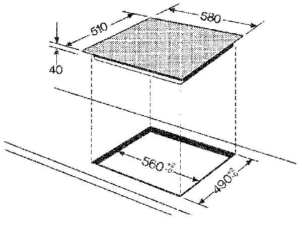 bauknecht set heko 8000 induktion pt herd set a 51 l. Black Bedroom Furniture Sets. Home Design Ideas