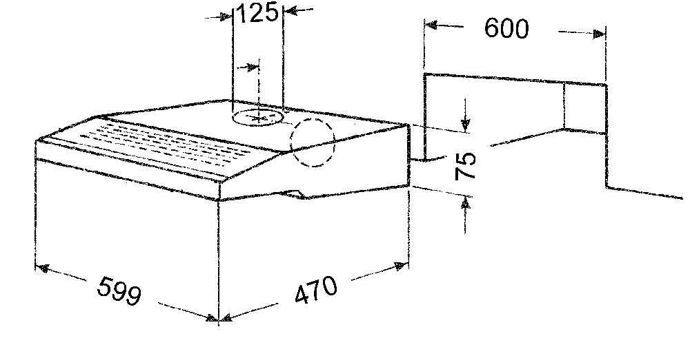 ma skizze f r den einbau ihre bauknecht dunstabzugshaube bild zum vergr ern bitte anklicken. Black Bedroom Furniture Sets. Home Design Ideas