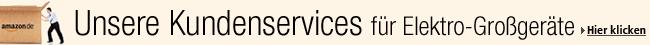 Kundenservices f�r Elektro-Gro�ger�te