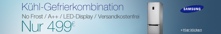 Samsung Kühl-Gefrierkombination für nur 499 EUR