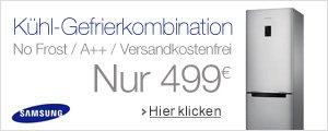 Samsung K�hl-Gefrierkombination f�r nur 499 EUR