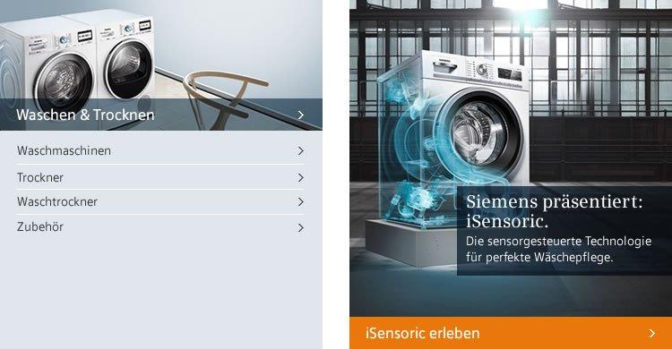 Siemens Waschen und Testsieger