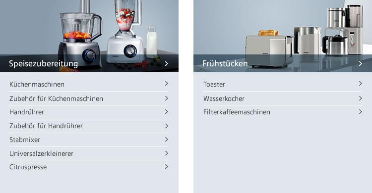 Siemens Kuechengeraete