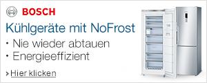 Bosch K�hlger�te mit noFrost