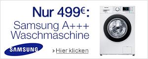 Angebot Samsung Waschmaschine
