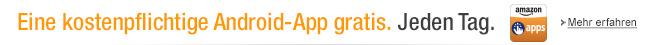 Amazon App-Shop: Eine kostenpflichtige App gratis. Jeden Tag.