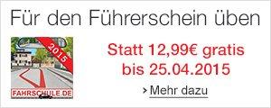 Gratis statt 12,99 EUR: i-Führerschein Fahrschule 2015