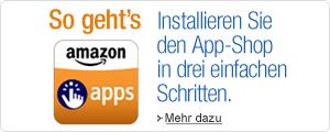 Installieren Sie den App-Shop in drei einfachen Schritten.