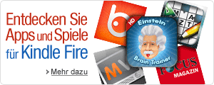 Apps und Spiele f�r Kindle Fire