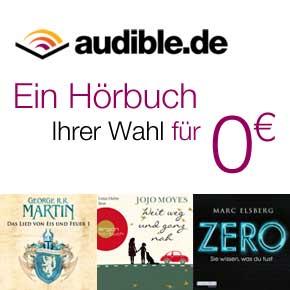 Hörbuch-Downloads: Jetzt im kostenlosen Probemonat testen