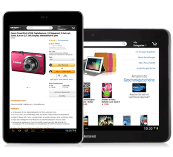 Amazon Mobil f�r Android-Tablets