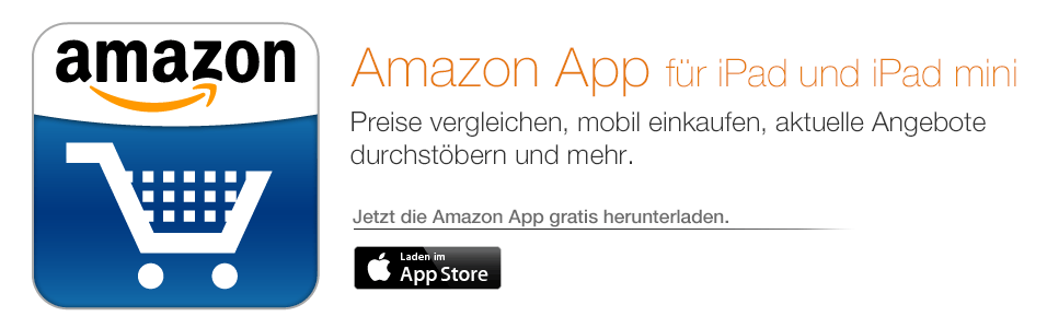 Die Amazon App f�r iPad
