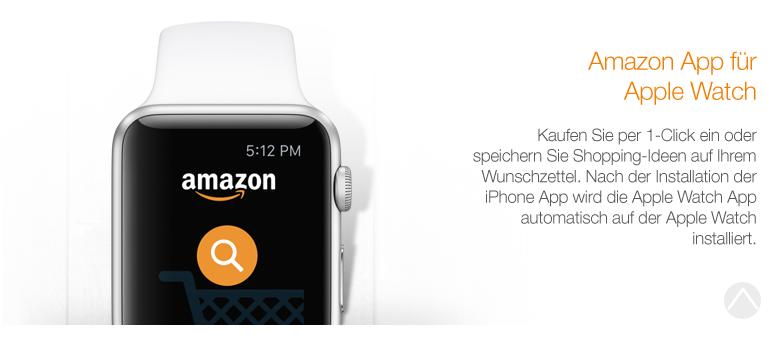 Amazon App für Apple Watch