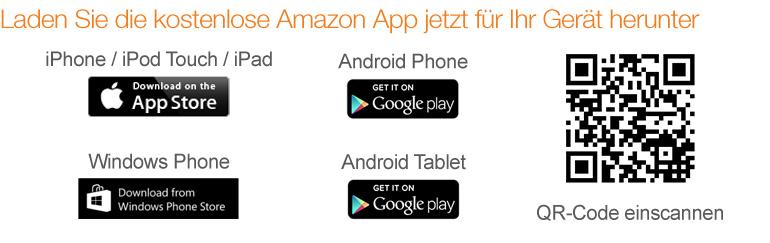 Laden Sie die Amazon App jetzt kostenlos herunter