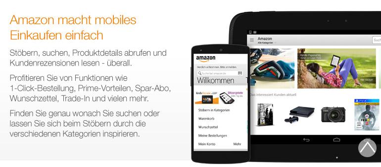 Amazon App Features