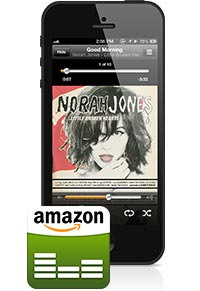Amazon Cloud Player f�r iPhone und iPod touch