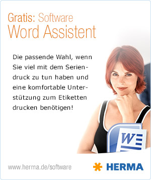 HERMA Word Assistent