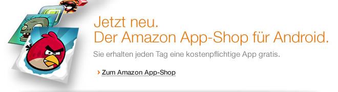Teaser Bild für Amazon Special: Amazon App-Shop