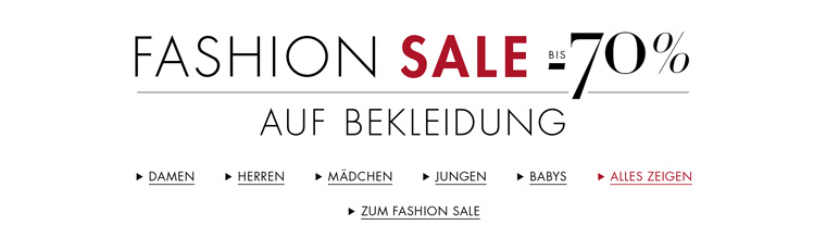 Fashion Sale Schuhe
