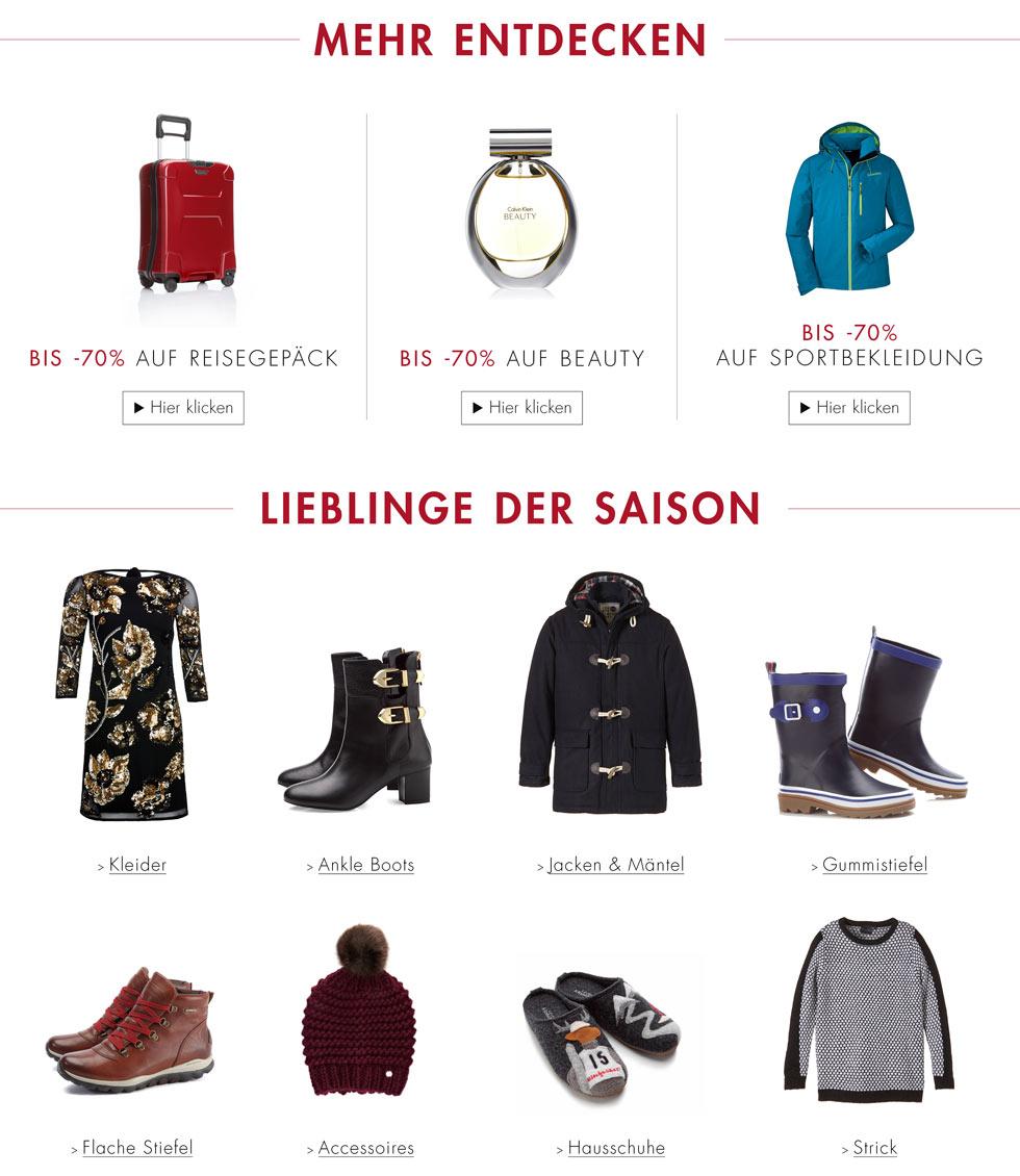 Amazon Fashion - bis 70% reduziert