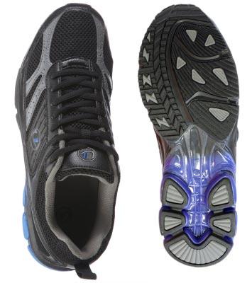 Ultrasport Erwachsenen Outdoor Sport- und Laufschuhe – Velocity inkl. 1 Paar Schnürsenkel in Kontrastfarbe zum Wechseln - Zusatzbild